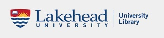 Lakehead University Library Logo